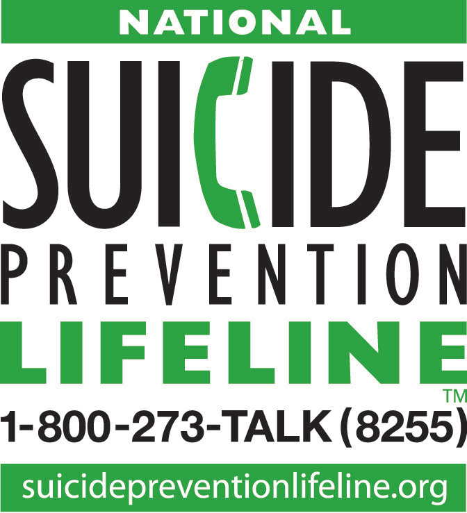 National Suicide Prevention Lifeline 1-800-273-TALK